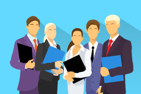 38548369 - business people group human resources flat vector